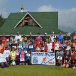 Group photo of runners of HSR 2013